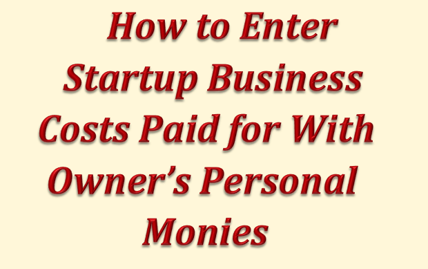 How to Enter Startup Business Costs
