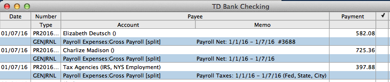 Third Party Payroll in Bank